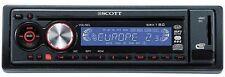 SRX 180 Scott Frontalino Flip Down Detachable CD Player SCOTT