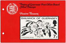Guernsey 1978 Festive Season  MNH Presentation Pack #C40481