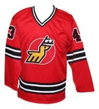 Custom Name # Michigan Stags Retro Hockey Jersey New Red Tardif Any Size
