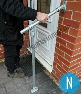 Outdoor Handrail Mobility Hand Rail Step Access Adjustable Grab Rail Disabled N