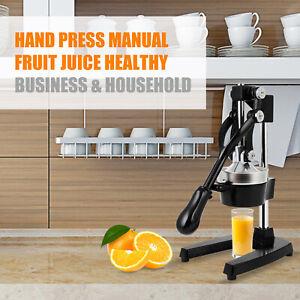 Saftpresse manuell mit Hebel Orangenpresse rutschfest Fruchtpresse Zitruspresse