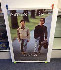 Rainman Movie Poster 27x41 One Sheet **Original 1988 Hoffman / Cruise NRMT