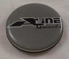 A Line Wheels Silver Custom Wheel Center Cap Caps # 10331C / 10331