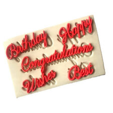 Blessing Letters silicone fondant molds cake decorating tools chocolate mould$-$