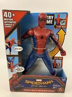 MARVEL SPIDER-MAN HOMECOMING TECH SUIT SPIDER-MAN 15' FIGURE 40+MOTION ACTIVATED