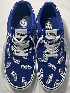 Men's VANS Blue Shoes Size 12 FREE SHIPPING