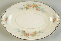 "Homer Laughlin Eggshell Nautilus Cashmere 12"" Meat Platter Tray N1577 U.S.A."