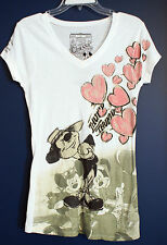 New Disney Parks Mickey Nifty Nineties Classic Collection T-Shirt Top M