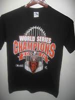 San Francisco Giants Baseball Team World Series Champions 2010 Trophy T Shirt Sm