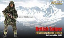 """Dragon 1/6 Scale 12"""" Falklands War British Sniper Private Phil Norman 70842"""