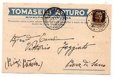 TOMASELLI RIVALTA MANTOVANA MANTOVA CANNE ERBE PALUSTRI BACHI DA SETA 1931