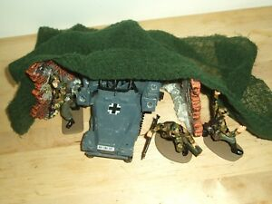 A4 SIZE PIECE OF OLIVE CAMOUFLAGE NETTING FOR MODEL SCENES & DIORAMAS SEE PICS
