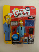 The Simpsons HERB POWELL  Series1  All - Star  Voices Figure.