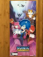 Official Sonic Chronicles: The Dark Brotherhood Nintendo Power Poster 2008 DS