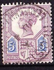 GREAT BRITAIN 1887-1900 Victoria 5d.