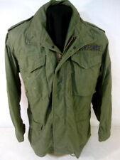 post-Vietnam US Army M65 OG-107 Combat Field Coat Jacket - Size Sm/Long - NICE