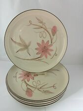 """Set of 5 Winfield California Passion Flower 10 1/8"""" DInner Plates"""