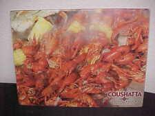 COUSHATTA Casino Resort Kinder Louisiana Crawfishs Shrimp Acrylic Cutting Board