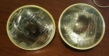 Fiat 124 Coupe BC/CC headlights with pk/lamp Carello 08.241.800 RIGHT HAND DRIVE
