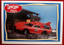 CAPTAIN SCARLET - Spectrum Patrol Car - Card #62 - Topps, 1993, Gerry Anderson