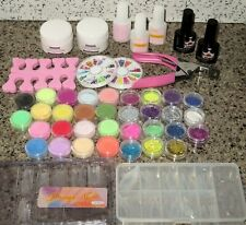 Nail Glitter Sequins Art Decoration Glitter Rhinestones Acrylic Dust Supplies
