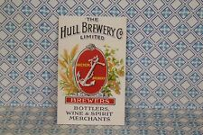 DOLLS HOUSE ( Retro  Metal Sign =   HULL BREWERY LTD