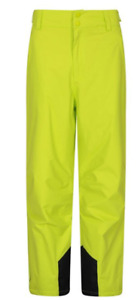 NEW Mens Mountain Warehouse Ski Trousers Salopettes L Large Gravity Green 99.99