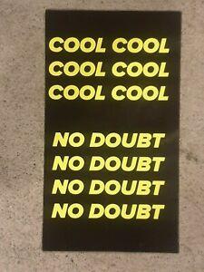 Cool Cool Cool No Doubt style Fridge Magnet, Brooklyn nine nine
