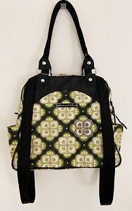 PETUNIA PICKLEBOTTOM Diaper Bag Backpack Green Gray Black