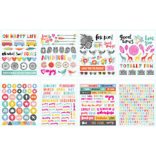 American Craft Oh Happy Life Collection Sticker Book