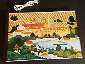 Vintage Warming Tray Jasco #1116 Gold Seal Vineyards Keuka Lake Hammondsports NY