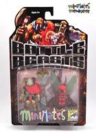 Battle Beasts Minimates SDCC Exclusive Vorin & Zik 2-Pack