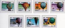 Flight Bicentenary Balloons & Ballooning Aircraft Stamp Set (1983 Kampuchea)
