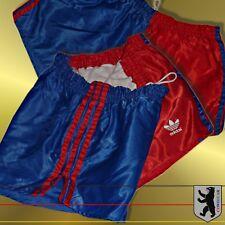 RARITÄT Adidas Vintage Glanz - Sporthose D6 / M Retro Shiny Nylon Shorts Pants