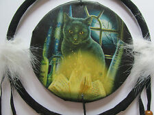 Lisa Parker Bewitched Cat dreamcatcher. Lovely item