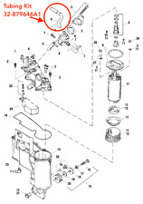 NEW Mercury Mercruiser Quicksilver 32-879646A 1 Tubing Kit