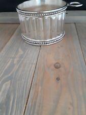 Godinger Silver Plated Wine Bottle Holder Cap Holder  4.5 diameter Nice!