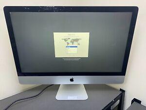 """APPLE IMAC LATE 2012 27"""" INCH A1419 i5 2.9GHz QUAD 16GB RAM 1TB HD DAMAGED GLASS"""