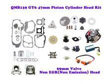 GY6 80cc 47mm QMB139 BIG BORE ENGINE KIT (69mm VALVES) NON-EGR *BIG SET*