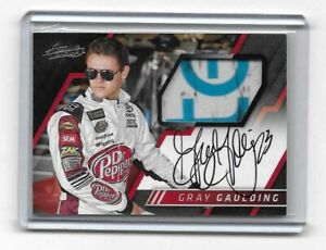 2017 Panini Absolute Racing NASCAR Absolute Memorabilia Signatures Gray Gaulding