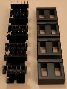 Batch Of 4 Kits Core Ferrite + Holder - for Fr HF Power
