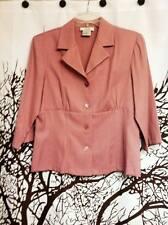 AGB Brand Pink Blazer Women's Size Medium
