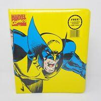 Vintage NOS 1994 Marvel Comics Wolverine X-Men Collector's Binder + Comic Prints