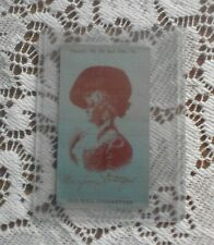 Old Mill Cigarette Promotional Silk ~ Actress, Grace Van Studdiford, C1910