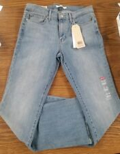 womens levis jeans slimming bootcut sz 31×32