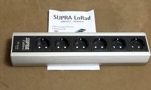 Supra Cables High-End 6x Netzleiste MD - 06 EU MK 3 / Netzfilter