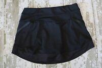 ATHLETA Womens ANNA SKORT Skirt Built In Shorts Tennis Black Run Small S