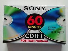 cassette audio vierge neuve sony CDIT I 60