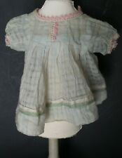 Antique! Sweet Thin Material Dress for Composition & Bisque Baby Doll 4 Repair