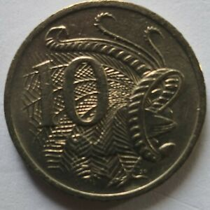 Australia 1984 10 Cents coin